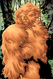 Alpha Flight No.7 Cover: Sasquatch Fighting Poster by Mizuki Sakakibara