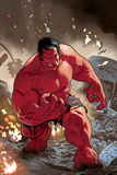 Hulk: Red Hulk Must Have Hulk No.1 Cover: Hulk Prints by Daniel Acuna