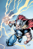 Marvel Adventures Super Heroes No.7 Cover: Thor Posters by Salvador Espin