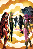 Exiles No.3 Cover: Scarlet Witch, Polaris and Blink Posters by Dave Bullock