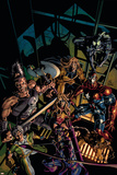 Dark Avengers No.10 Cover: Hawkeye Posters by Mike Deodato
