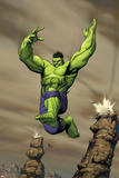 Giant-Size Incredible Hulk No.1 Cover: Hulk Posters by Gary Frank