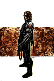 Captain America No.11 Cover: Winter Soldier Posters por Steve Epting