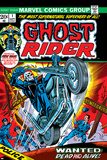 Ghost Rider No.1 Cover: Ghost Rider Posters by Gil Kane