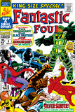 Fantastic Four Annual No.5 Cover: Black Bolt Fotografía por Jack Kirby