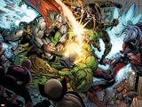Incredible Hulk No.607 Group: Thor, Skaar, Ronin and Red She-Hulk Poster by Paul Pelletier