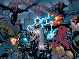 Marvel Knights Spider-Man No.10 Group: Spider-Man, Black Cat, Green Goblin, Lizard and Vulture Posters
