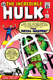 Steve Ditko - The Incredible Hulk No.6 Cover: Hulk and Metal Master Fighting Plakáty