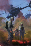 Combat Zone: True Tales Of GIs In Iraq Cover: Marvel Universe Posters by Dan Jurgens