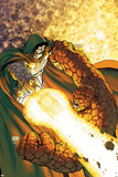Fantastic Four No.552 Cover: Dr. Doom and Thing Posters by Michael Turner