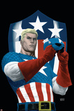 The Marvels Project No.5 Cover: Captain America Photo by Steve MCNiven