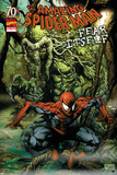 Spider-Man: Fear Itself No.1 Cover: Spider-Man and Man-Thing Print by Mico Suayan