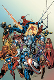 Last Hero Standing No.1 Cover: Spider-Man Print by Scott Hanna