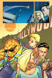 Marvel Adventures Fantastic Four No.29 Group: Thing Posters by Kirk Leonard