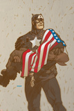 Captain America V4, No.23 Cover: Captain America Prints by Dave Johnson