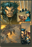 Ultimates 3 No.3 Headshot: Wolverine Posters by Joe Madureira