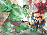Hulk Vs. Hercules: When Titans Collide No.1 Cover: Hulk and Hercules Prints