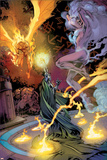 Fantastic Four: House Of M No.2 Group: Invincible Woman Prints by Scot Eaton