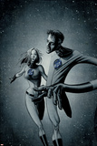 Marvek Knights 4 No.28 Cover: Mr. Fantastic and Invisible Woman Posters by David Aja