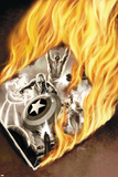 Captain America No.48 Cover: Captain America Posters by Steve Epting