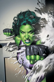 She-Hulk No.5 Cover: She-Hulk Photo by Adi Granov