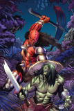 Skaar: Son Of Hulk No.6 Cover: Skaar Posters by Ron Garney