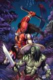 Skaar: Son Of Hulk No.6 Cover: Skaar Posters by Ron Garney