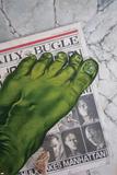World War Hulk: Front Line No.1 Cover: Hulk Posters