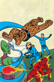 Marvel Knights 4 No.24 Cover: Mr. Fantastic Posters