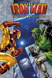 Iron Man: Legacy Of Doom No.1 Cover: Iron Man and Dr. Doom Posters by Ron Lim