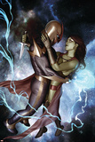 Nova No.10 Cover: Nova and Gamora Posters by Adi Granov