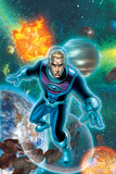 Fantastic Four No.522 Cover: Storm and Johnny Poster by Mike Wieringo