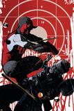 Daredevil Noir No.3 Cover: Daredevil Print by Tomm Coker