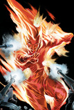 The Marvels Projects No.2 Cover: Human Torch Posters by Steve MCNiven