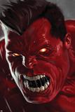 Hulk: rudý Hulk, obálka č.2 Obrazy