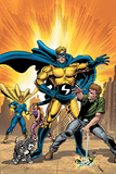 New Avengers N9 Cover: Sentry Posters by Steve MCNiven