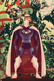 Adam: Legend Of The Blue Marvel No.3 Cover: Blue Marvel Poster by Juan Doe