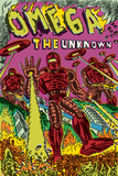 Omega: The Unknown No.7 Cover: Marvel Universe Posters by Farel Dalrymple