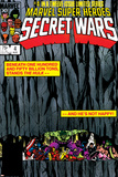 Secret Wars No.4 Cover: Hulk and Captain America Pósters por Bob Layton