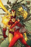 Astonishing Tales No.3 Cover: Spider Woman and Iron Man Posters by Kenneth Rocafort