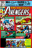 Avengers Annual No.10 Cover: Captain America Posters by Michael Golden