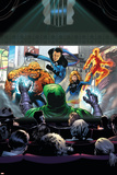 Marvel Adventures Fantastic Four No.36 Cover: Thing, Human Torch, Mr. Fantastic and Invisible Woman Posters by Dennis Callero