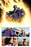 Ultimate Fantastic Four No.28 Group: Super Skrull and Skrulls Posters by Greg Land