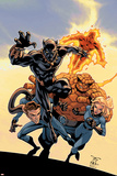 Fantastic Four Tales No.1 Cover: Black Panther Posters by Randy Green