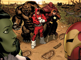Hulk No.1 Group: Red Guardian, Ursa Major and Darkstar Prints by Ed McGuinness