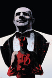 Daredevil Noir No.4 Cover: Daredevil and Kingpin Posters by Tomm Coker