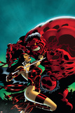 Hulk No.15 Cover: Elektra and Rulk Posters by Ian Churchill