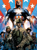 Captain America Theater of War: Ghosts of My Country No.1 Cover: Captain America Poster by Butch Guice