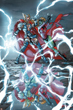 Avengers: The Initiative No.18 Cover: Thor Girl and Ultragirl Photo by Mark Brooks