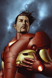 Iron ManNo.3 Cover: Iron Man, Stark and Tony Plakaty